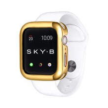 Load image into Gallery viewer, Gold Minimalist Apple Watch Case jewelry for Women