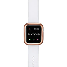 Load image into Gallery viewer, Top View Rose Gold Minimalist Apple Watch Case