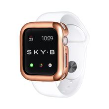 Load image into Gallery viewer, Rose Gold Minimalist Apple Watch Case jewelry for Women