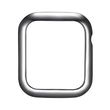 Load image into Gallery viewer, Face view Gunmetal Minimalist Apple Watch Case jewelry
