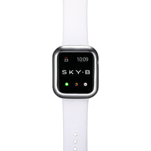 Load image into Gallery viewer, Top View Gunmetal Minimalist Apple Watch Case