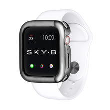 Load image into Gallery viewer, Gunmetal Minimalist Apple Watch Case jewelry for Women