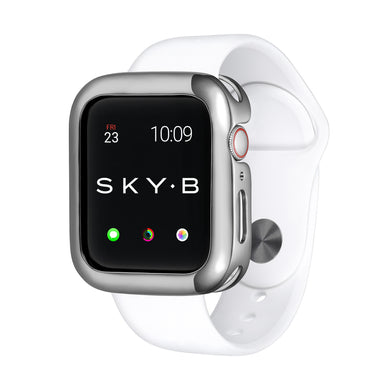 Silver Minimalist Apple Watch Case jewelry for Women