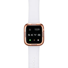 Load image into Gallery viewer, Top View Rose Gold Dash Apple Watch Case