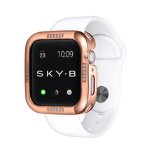 Load image into Gallery viewer, Rose Gold Dash Apple Watch Case jewelry for Women