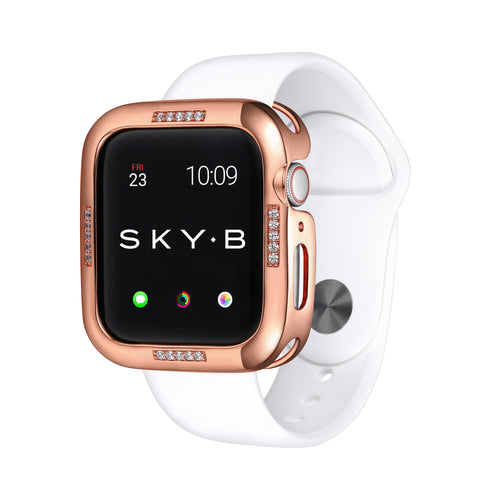 Rose Gold Dash Apple Watch Case jewelry for Women