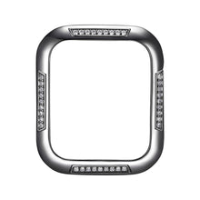 Load image into Gallery viewer, Face view Gunmetal Runway Apple Watch Case jewelry