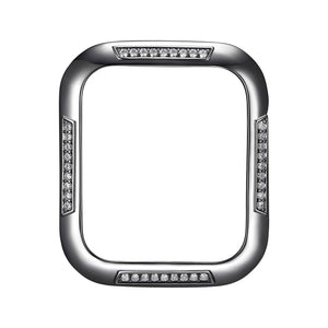 Face view Gunmetal Runway Apple Watch Case jewelry