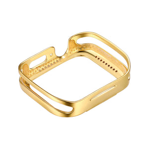 Rear View Gold Runway Apple Watch Case jewelry
