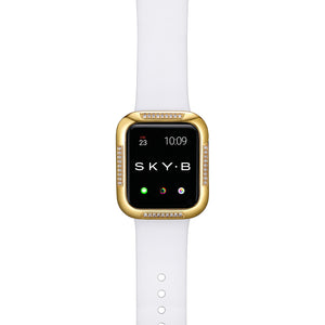 Top View Gold Runway Apple Watch Case