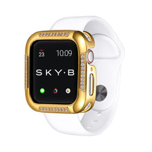 Load image into Gallery viewer, Gold Runway Apple Watch Case jewelry for Women