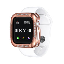 Load image into Gallery viewer, Rose Gold Runway Apple Watch Case jewelry for Women
