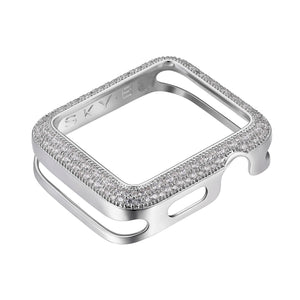 Front View Silver Soda Pop Apple Watch Case jewelry