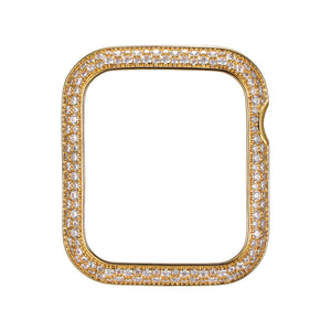 Face view Gold Soda Pop Apple Watch Case jewelry