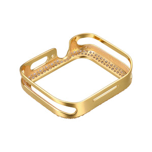 Rear View Gold Soda Pop Apple Watch Case jewelry
