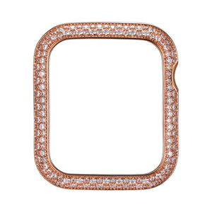 Face view Rose Gold Soda Pop Apple Watch Case jewelry