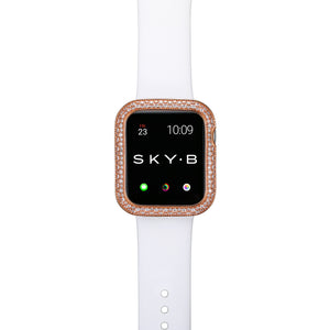 Top View Rose Gold Soda Pop Apple Watch Case