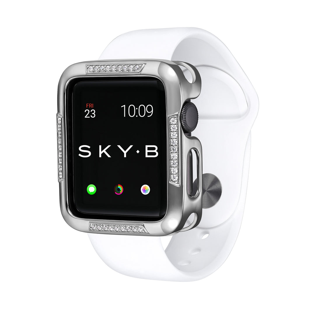 Silver Runway Apple Watch Case jewelry for Women