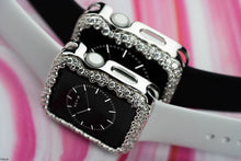Load image into Gallery viewer, Champagne Bubbles Apple Watch Case - Silver