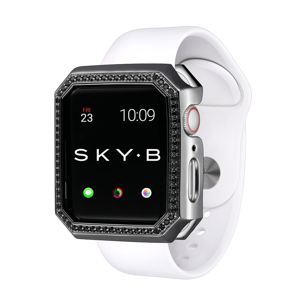 Deco Halo Apple Watch Case - Black