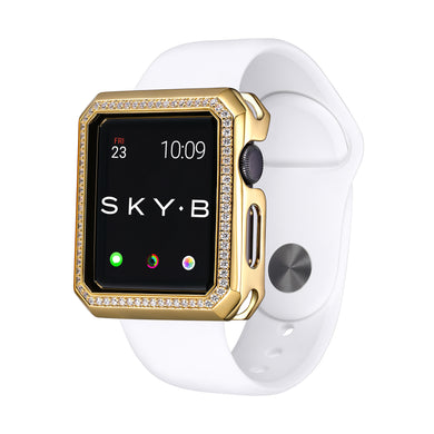 Deco Halo Apple Watch Case - Gold