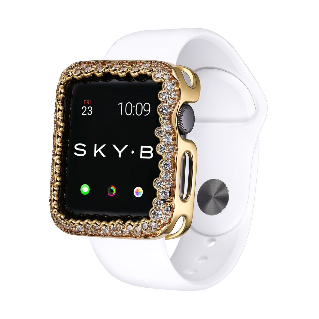 Champagne Bubbles Apple Watch® Case - Gold