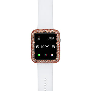 Champagne Bubbles Apple Watch Case - Rose Gold