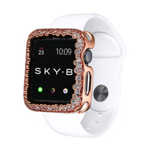 Load image into Gallery viewer, Champagne Bubbles Apple Watch Case - Rose Gold