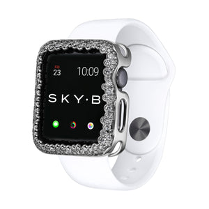 Champagne Bubbles Apple Watch® Case - Silver