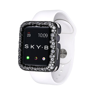 Champagne Bubbles Apple Watch® Case - Gunmetal
