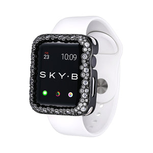 Champagne Bubbles Apple Watch Case - Gunmetal