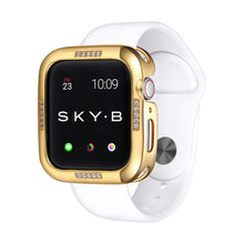 Load image into Gallery viewer, Gold Dash Apple Watch Case jewelry for Women