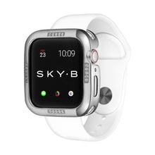 Load image into Gallery viewer, Silver Dash Apple Watch Case jewelry for Women
