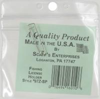 ZIP SEALED LICENSE HOLDER-PEG