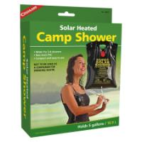 SOLAR HEATED CAMP SHOWER