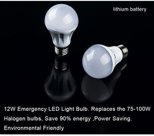 Solar emergency LED energy-saving lamp