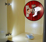 Hinge LED Light ~(Kitchen/Cabinet/Cupboard/Closet/Bedroom/Wardrobe Night Lights)