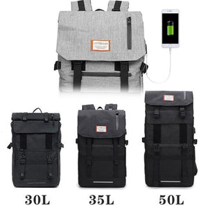 Patented Waterproof Backpack - 30-50 Liter ,【also can charge the mobile phone。】 Kayaking, Swimming, Boating, Camping, Travel & Gifts