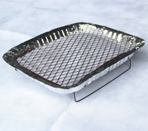 A disposable oven,Charcoal oven,Light and fast barbecue grill,Camping stove,Barbecue