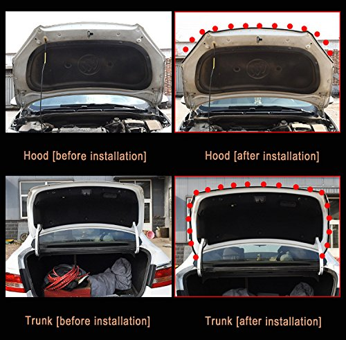 Adhesive Automotive Rubber Weather Draft Seal Strip Weatherstrip For Car Window Door Soundproofing Engine Cover