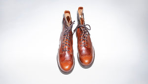 Pacifist Hunter Brogue Goodyear Welted boots EB by Bum Society