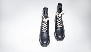 Pacifist Hunter Goodyear Welted boots FB by Bum Society