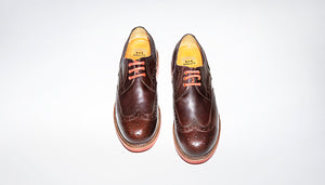 Punk Executive Goodyear Welted shoes Secular Brown by Bum Society