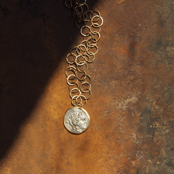 HAND FORGED COIN NECKLACE