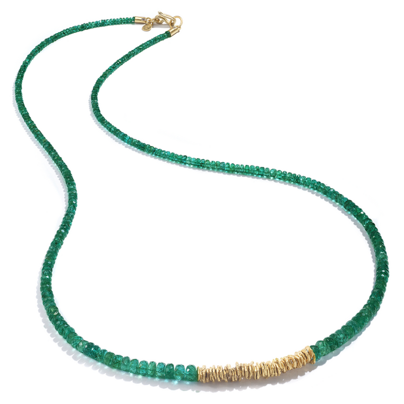EMERALD STRAND NECKLACE
