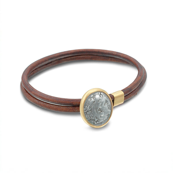 ANCIENT COIN BRACELET