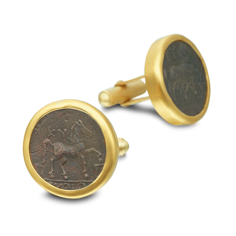 ANCIENT COIN CUFFLINKS