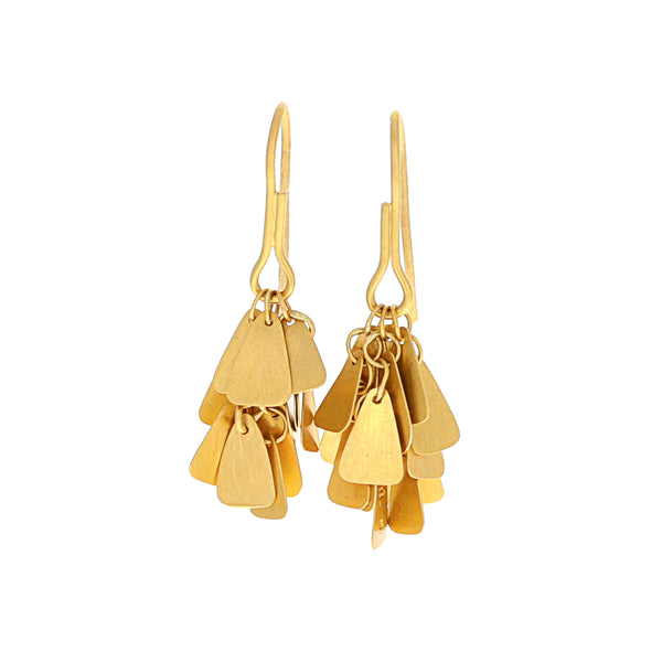 TRIANGULAR CHANDELIER EARRINGS