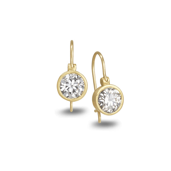 CROWN DIAMOND EARRINGS