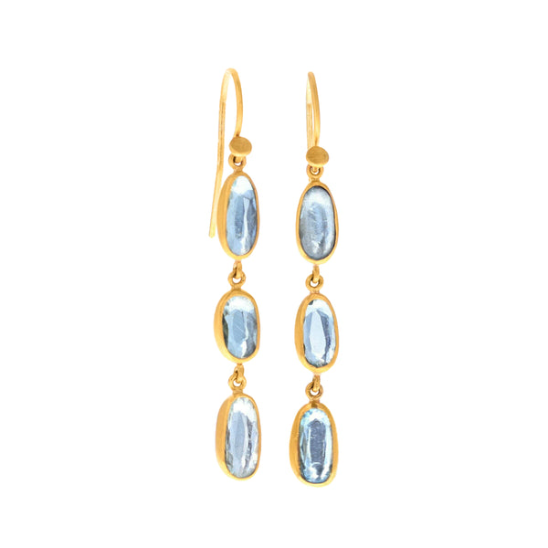 GESHEM TRIPLE DROP EARRINGS